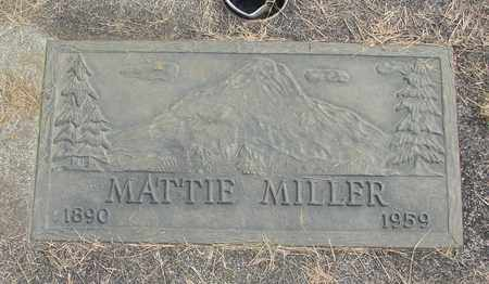 MILLER, MATTIE - Linn County, Oregon | MATTIE MILLER - Oregon Gravestone Photos