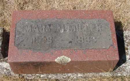 MILLER, MARY M - Linn County, Oregon   MARY M MILLER - Oregon Gravestone Photos