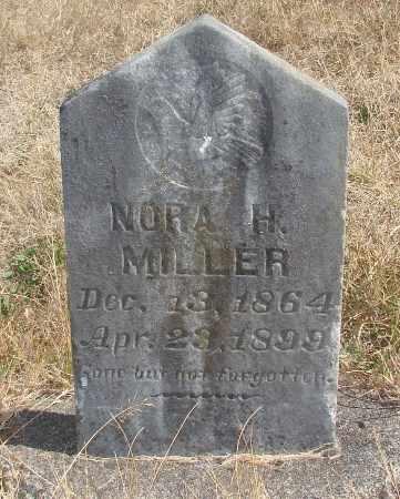 MILLER, NORA H - Linn County, Oregon   NORA H MILLER - Oregon Gravestone Photos