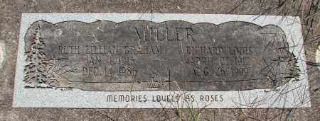 MILLER, RUTH LILLIAN - Linn County, Oregon | RUTH LILLIAN MILLER - Oregon Gravestone Photos