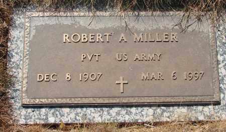 MILLER, ROBERT A - Linn County, Oregon   ROBERT A MILLER - Oregon Gravestone Photos