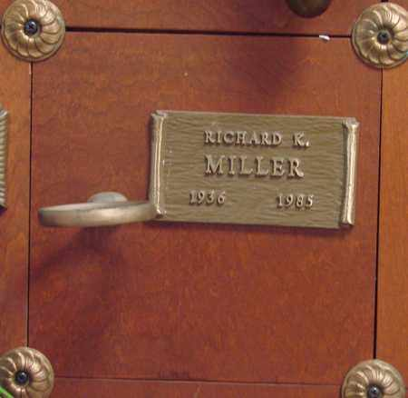 MILLER, RICHARD KENNETH - Linn County, Oregon   RICHARD KENNETH MILLER - Oregon Gravestone Photos
