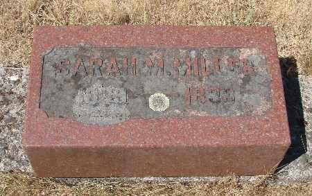 MILLER, SARAH M - Linn County, Oregon   SARAH M MILLER - Oregon Gravestone Photos