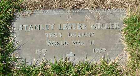 MILLER, STANLEY LESTER - Linn County, Oregon | STANLEY LESTER MILLER - Oregon Gravestone Photos
