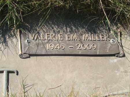 MILLER, VALERIE EM - Linn County, Oregon | VALERIE EM MILLER - Oregon Gravestone Photos