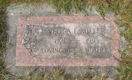 MILLER, VEOLA LUCILLE - Linn County, Oregon | VEOLA LUCILLE MILLER - Oregon Gravestone Photos