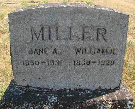 MILLER, WILLIAM ROSS - Linn County, Oregon   WILLIAM ROSS MILLER - Oregon Gravestone Photos