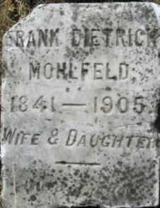 MOHLFELD, FRANK DIETRICK - Linn County, Oregon | FRANK DIETRICK MOHLFELD - Oregon Gravestone Photos