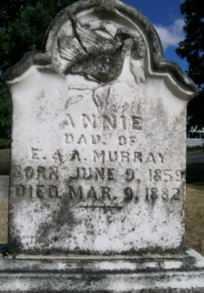 MURRAY, ANNIE - Linn County, Oregon   ANNIE MURRAY - Oregon Gravestone Photos