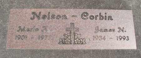 CORBIN, JAMES N - Linn County, Oregon   JAMES N CORBIN - Oregon Gravestone Photos