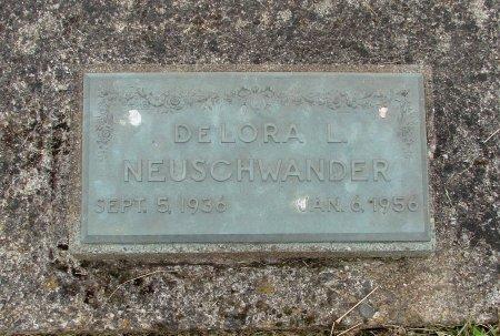NEUSCHWANDER, DELORA LYDIA - Linn County, Oregon   DELORA LYDIA NEUSCHWANDER - Oregon Gravestone Photos