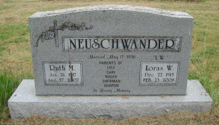 NEUSCHWANDER, RUTH MARY - Linn County, Oregon | RUTH MARY NEUSCHWANDER - Oregon Gravestone Photos