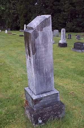 NICKERSON, SEREPTA A. - Linn County, Oregon | SEREPTA A. NICKERSON - Oregon Gravestone Photos