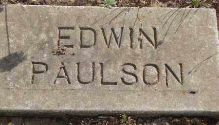 PAULSON, EDWIN - Linn County, Oregon | EDWIN PAULSON - Oregon Gravestone Photos