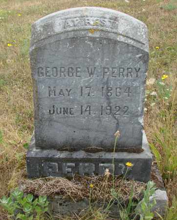PERRY, GEORGE W - Linn County, Oregon | GEORGE W PERRY - Oregon Gravestone Photos