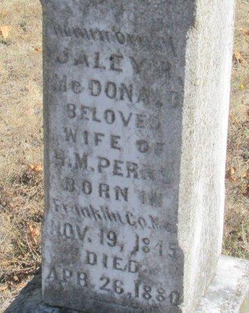 PERRY, JALEY RUEL - Linn County, Oregon | JALEY RUEL PERRY - Oregon Gravestone Photos