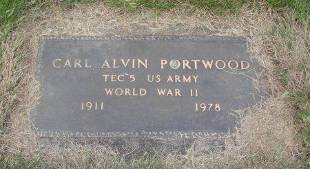 PORTWOOD, CARL ALVIN - Linn County, Oregon | CARL ALVIN PORTWOOD - Oregon Gravestone Photos