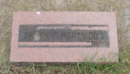 PORTWOOD, FRANK F - Linn County, Oregon | FRANK F PORTWOOD - Oregon Gravestone Photos
