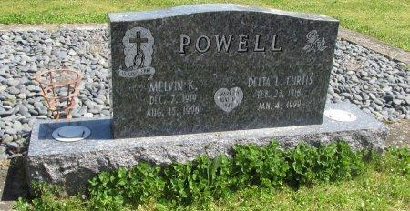 CURTIS POWELL, DELTA L - Linn County, Oregon | DELTA L CURTIS POWELL - Oregon Gravestone Photos