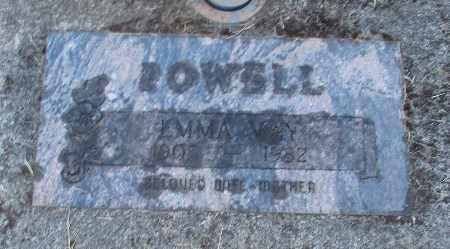 POWELL, EMMA MAY - Linn County, Oregon   EMMA MAY POWELL - Oregon Gravestone Photos