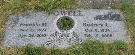 POWELL, RODNEY LANDON - Linn County, Oregon   RODNEY LANDON POWELL - Oregon Gravestone Photos