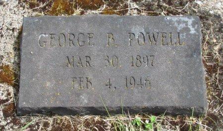 POWELL, GEORGE B - Linn County, Oregon | GEORGE B POWELL - Oregon Gravestone Photos