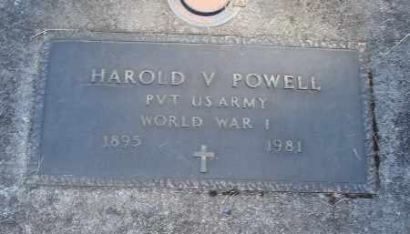 POWELL, HAROLD V - Linn County, Oregon | HAROLD V POWELL - Oregon Gravestone Photos