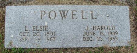 POWELL, JOHN HAROLD - Linn County, Oregon | JOHN HAROLD POWELL - Oregon Gravestone Photos