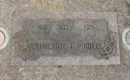 POWELL, KATHERINE T - Linn County, Oregon   KATHERINE T POWELL - Oregon Gravestone Photos