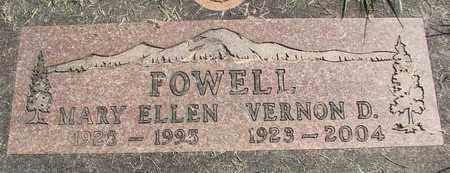 POWELL, VERNON D - Linn County, Oregon | VERNON D POWELL - Oregon Gravestone Photos
