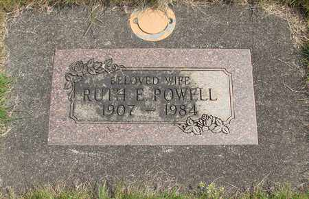 POWELL, RUTH E - Linn County, Oregon | RUTH E POWELL - Oregon Gravestone Photos