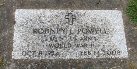 POWELL, RODNEY LANDON - Linn County, Oregon | RODNEY LANDON POWELL - Oregon Gravestone Photos
