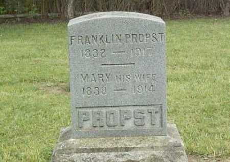 PROPST, MARY - Linn County, Oregon | MARY PROPST - Oregon Gravestone Photos