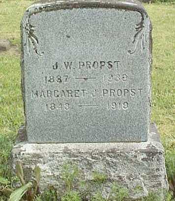 PROPST, MARGARET JANE - Linn County, Oregon | MARGARET JANE PROPST - Oregon Gravestone Photos