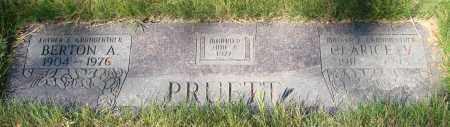 PRUETT, CLARICE VERONIA - Linn County, Oregon | CLARICE VERONIA PRUETT - Oregon Gravestone Photos