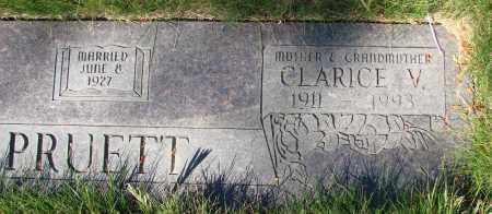 PRUETT, CLARICE VERONIA - Linn County, Oregon   CLARICE VERONIA PRUETT - Oregon Gravestone Photos