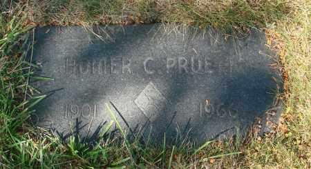 PRUETT, HOMER C - Linn County, Oregon | HOMER C PRUETT - Oregon Gravestone Photos
