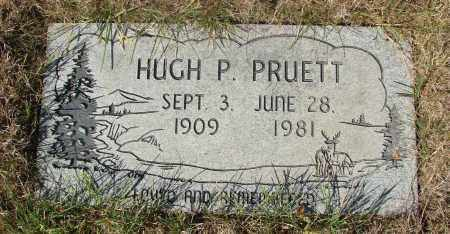 PRUETT, HUGH P - Linn County, Oregon | HUGH P PRUETT - Oregon Gravestone Photos