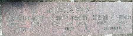 RICHARDS, CORNELIA ANN - Linn County, Oregon | CORNELIA ANN RICHARDS - Oregon Gravestone Photos