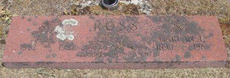 ROSS, HARLAN L - Linn County, Oregon   HARLAN L ROSS - Oregon Gravestone Photos