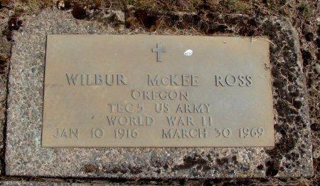 ROSS, WILBUR MCKEE - Linn County, Oregon | WILBUR MCKEE ROSS - Oregon Gravestone Photos