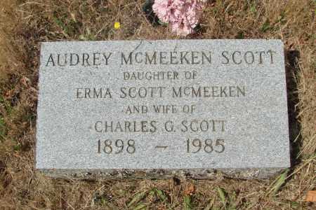 SCOTT, AUDREY - Linn County, Oregon | AUDREY SCOTT - Oregon Gravestone Photos