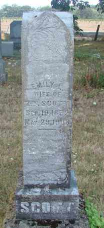 SCOTT, EMILY L - Linn County, Oregon | EMILY L SCOTT - Oregon Gravestone Photos
