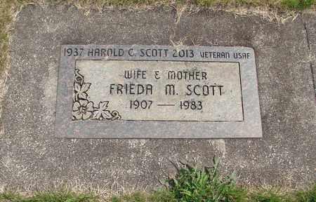 SCOTT, HAROLD C - Linn County, Oregon | HAROLD C SCOTT - Oregon Gravestone Photos
