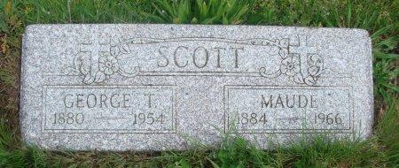 SCOTT, GEORGE T - Linn County, Oregon | GEORGE T SCOTT - Oregon Gravestone Photos