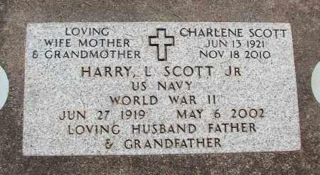 SCOTT, HARRY L JR - Linn County, Oregon | HARRY L JR SCOTT - Oregon Gravestone Photos