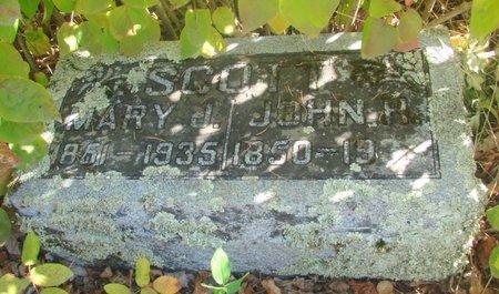 SCOTT, JOHN HENRY - Linn County, Oregon | JOHN HENRY SCOTT - Oregon Gravestone Photos