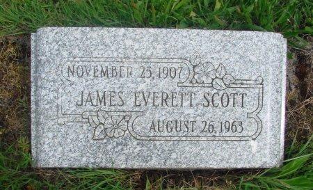 SCOTT, JAMES EVERETTE - Linn County, Oregon | JAMES EVERETTE SCOTT - Oregon Gravestone Photos