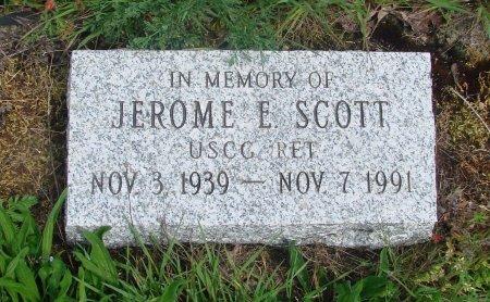 SCOTT, JEROME E - Linn County, Oregon   JEROME E SCOTT - Oregon Gravestone Photos