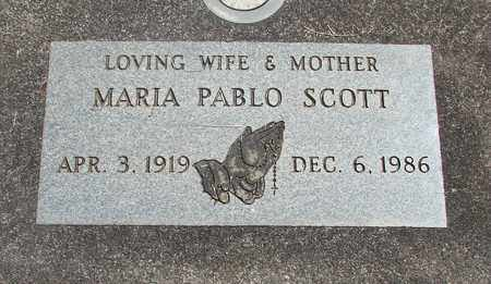 SCOTT, MARIA - Linn County, Oregon | MARIA SCOTT - Oregon Gravestone Photos